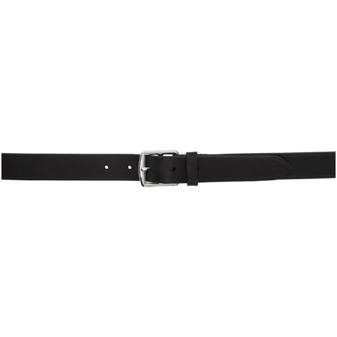 Photo: Comme des Garcons Homme Black Leather Belt