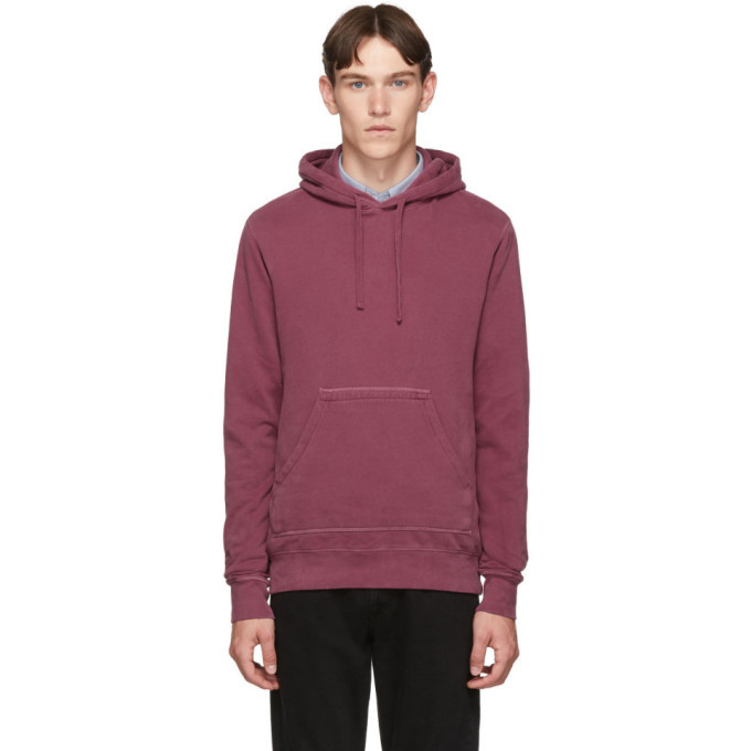 Photo: Officine Generale Red Olivier Hoodie