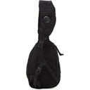 C.P. Company Black Nylon B. Crossbody Lens Backpack