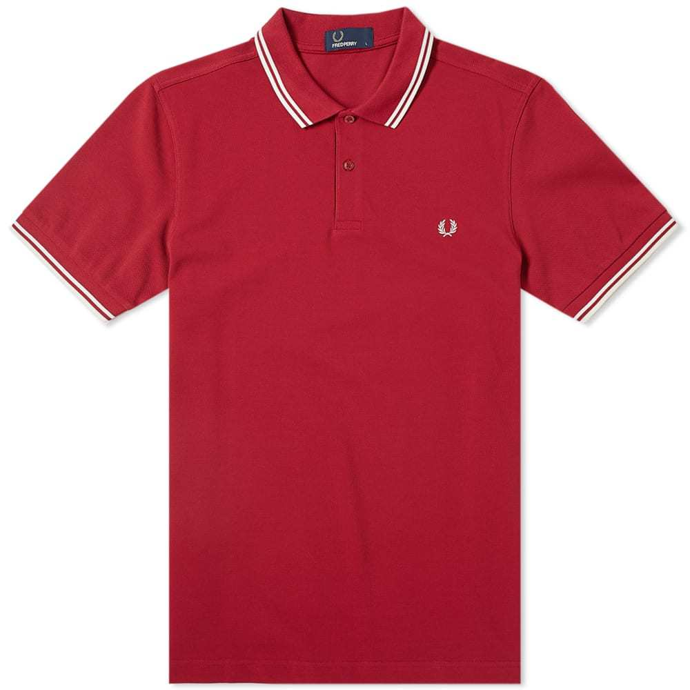 Photo: Fred Perry Slim Fit Twin Tipped Polo