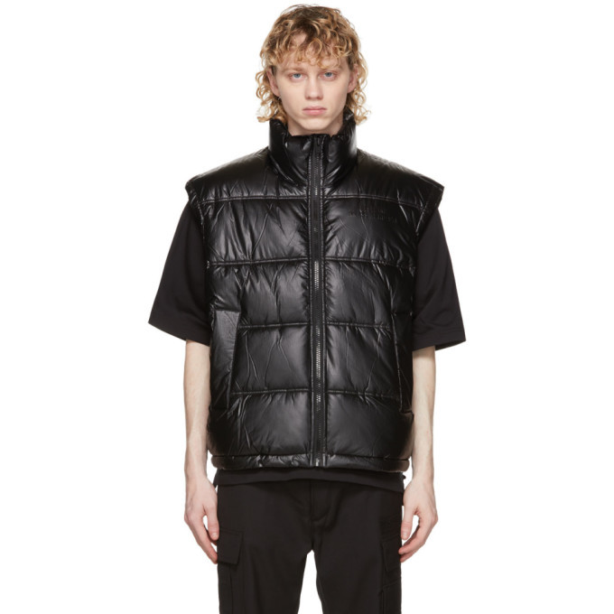 Photo: Diesel Black Padded W-North Vest