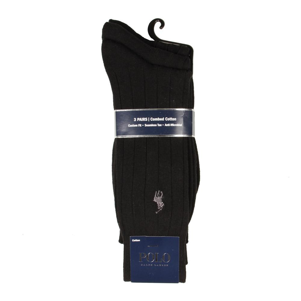 Photo: 3 Pack Socks - Black