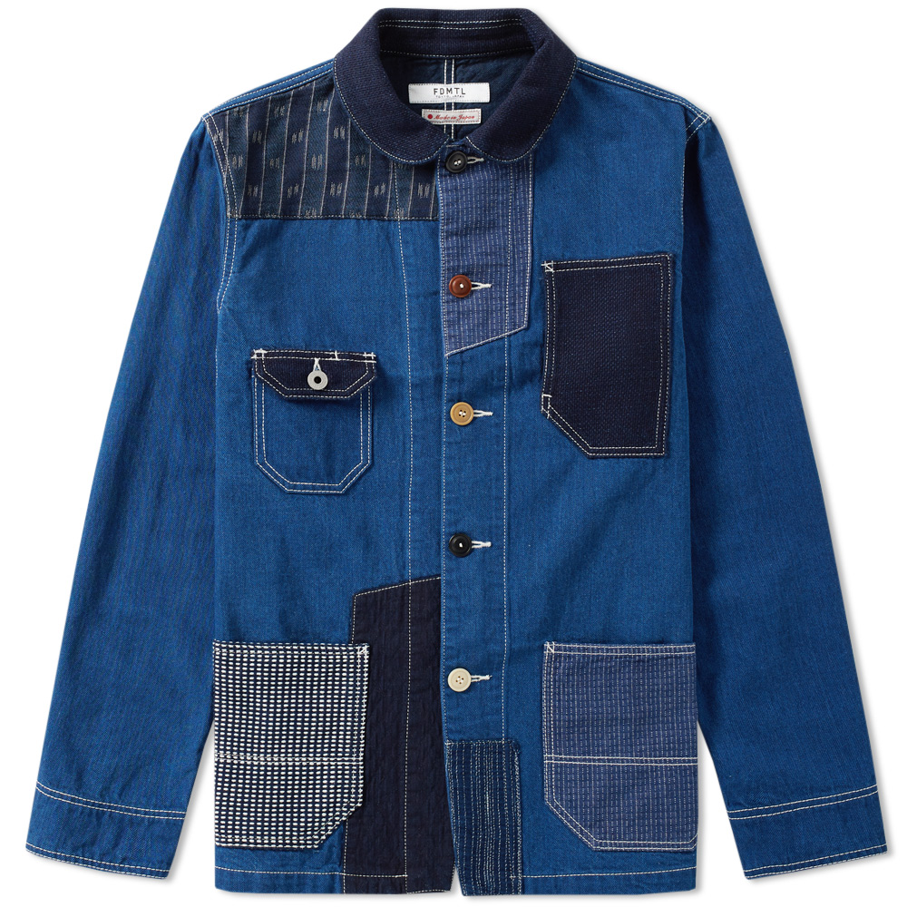 Photo: FDMTL Patchwork Coverall Jacket