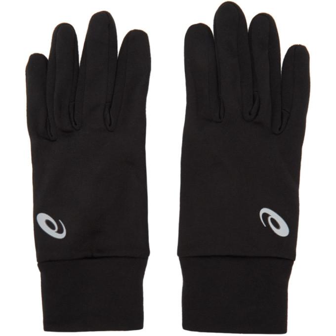 Asics Black Performance Gloves