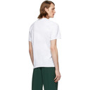 Martine Rose White Lettuce Hem T-Shirt