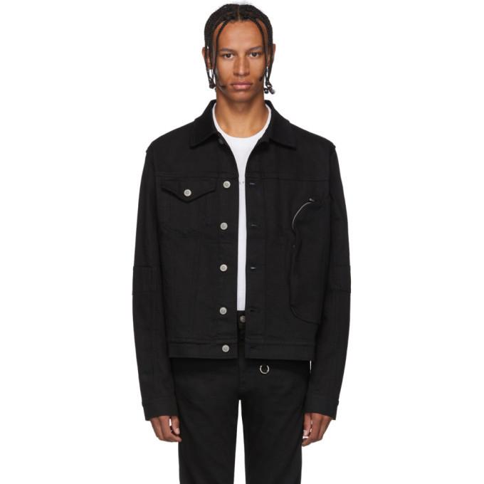 Photo: 1017 ALYX 9SM Black Denim Pocket Jacket