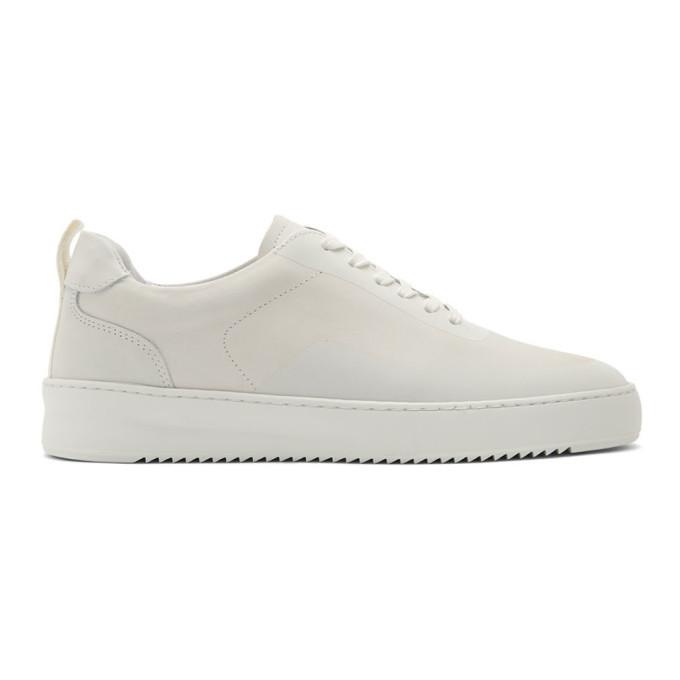 Photo: Filling Pieces White 2.0 Mondo Ripple Sneakers