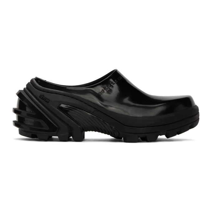 Photo: 1017 ALYX 9SM Black Leather Clogs