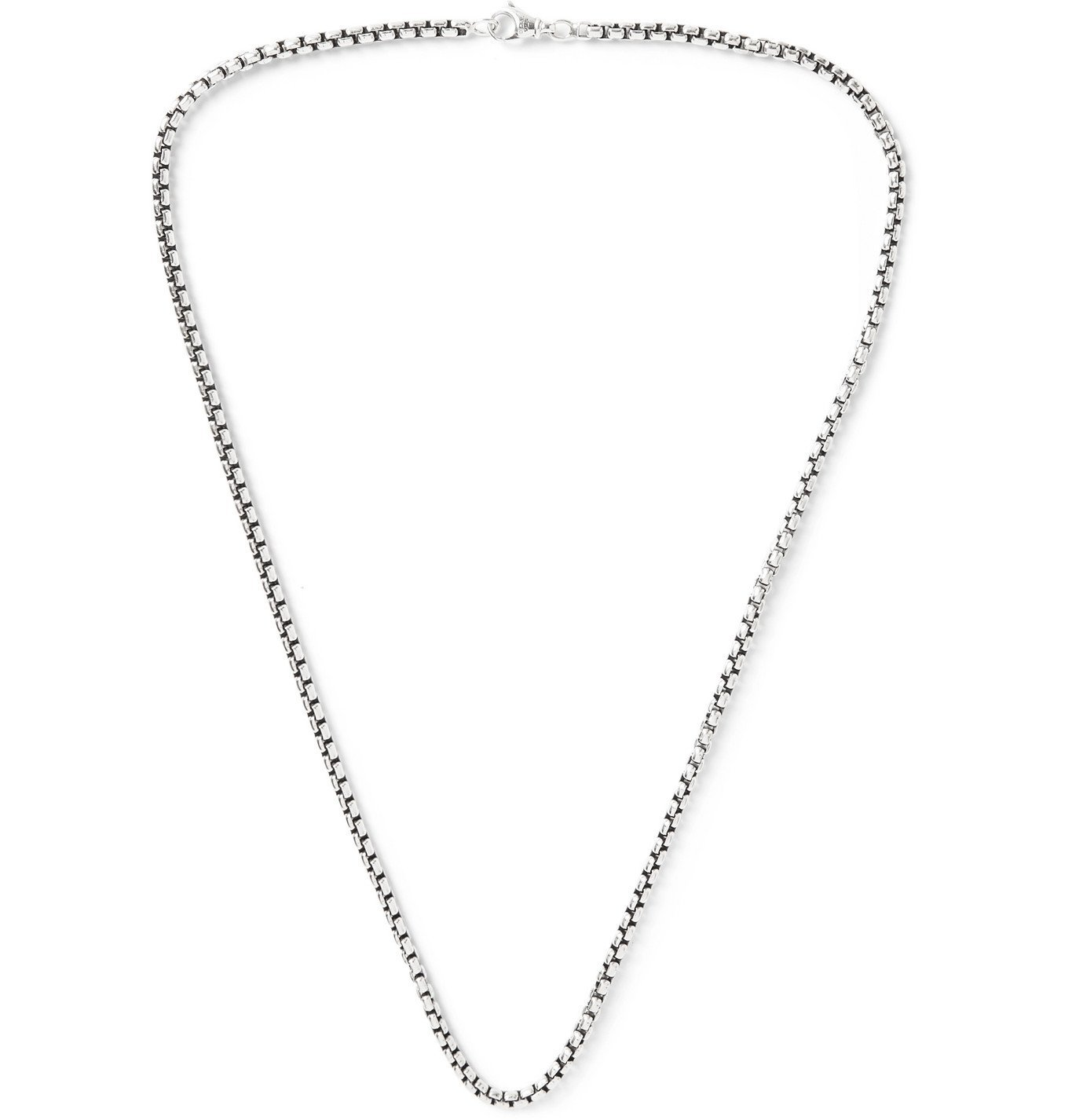 Photo: David Yurman - Sterling Silver Chain Necklace - Silver
