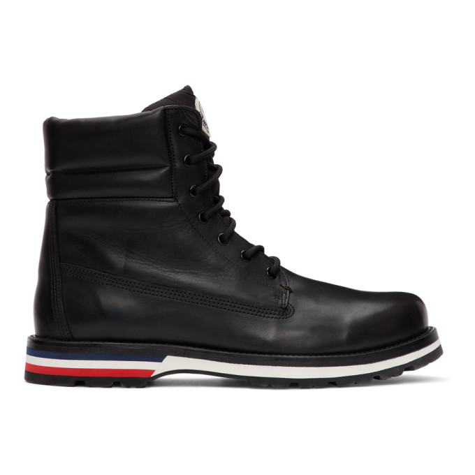 Photo: Moncler Black Vancouver Boots