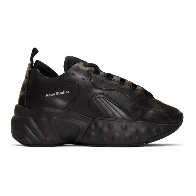 Acne Studios Black Rockaway Sneakers