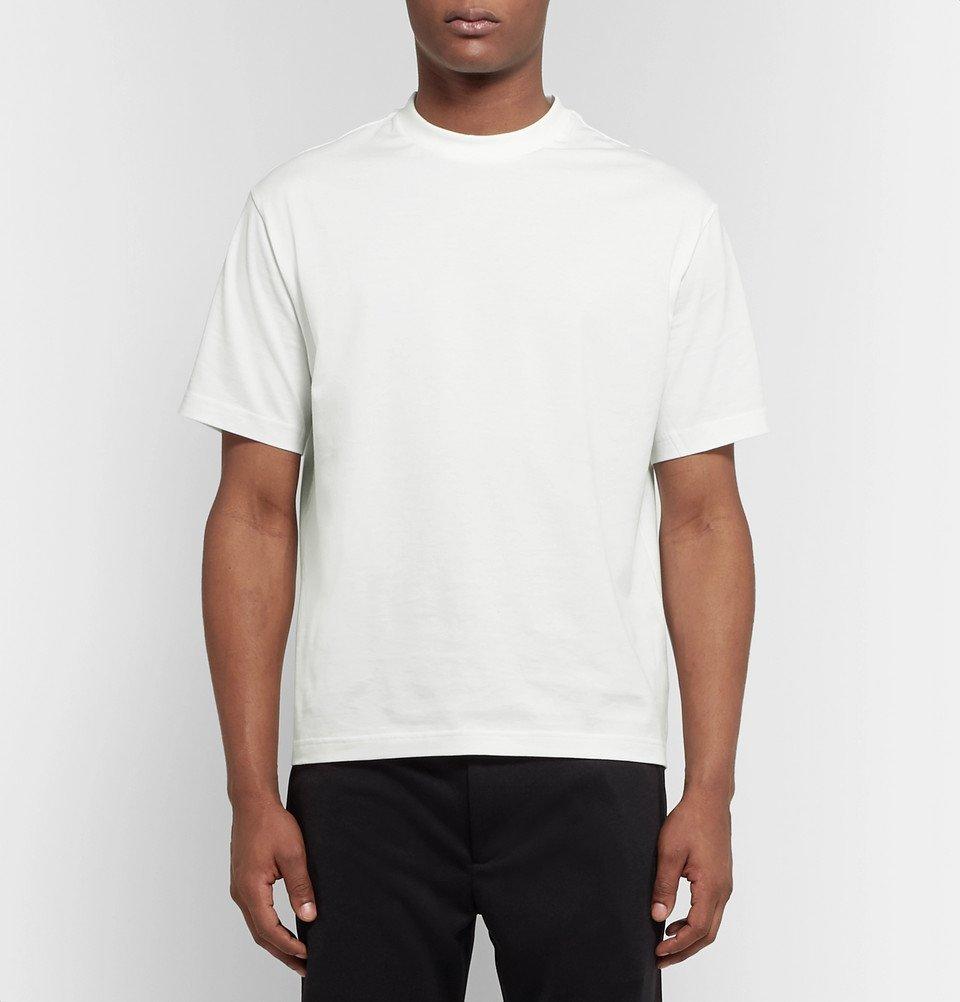 Y-3 - Logo-Print Cotton-Jersey T-Shirt - Men - White