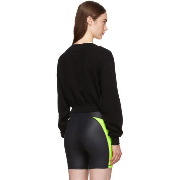 alexanderwang.t Black and Yellow Bi-Layer Sweater
