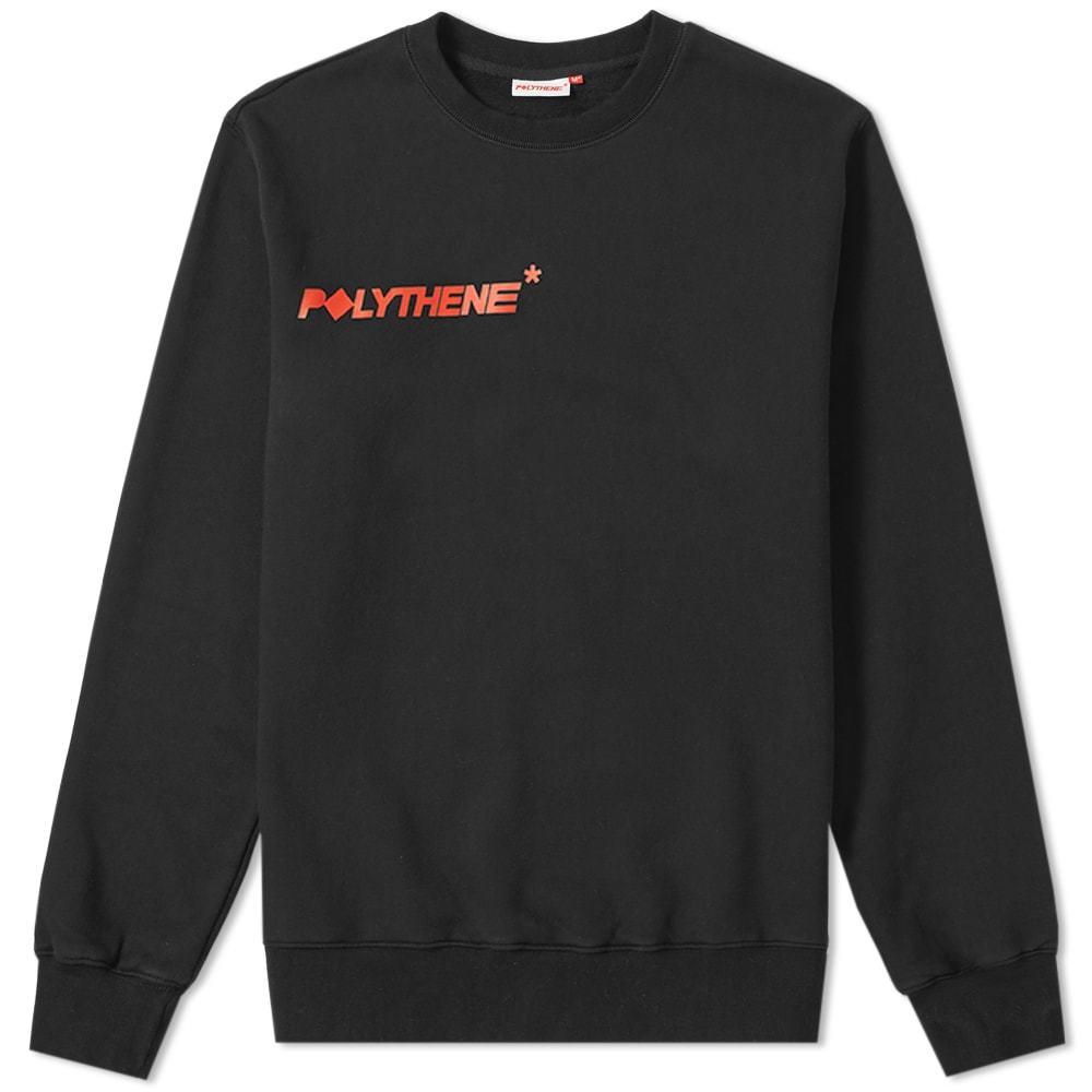 Photo: Polythene Optics Logo Sweat Black