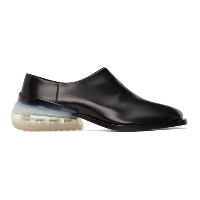 Photo: Maison Margiela Black Airbag Tabi Loafers
