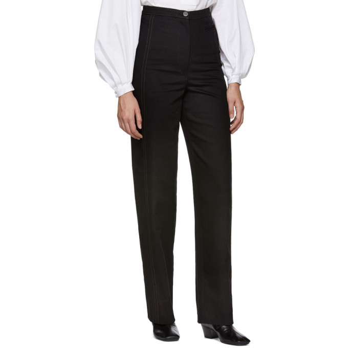 Lemaire Black High Waisted Jeans