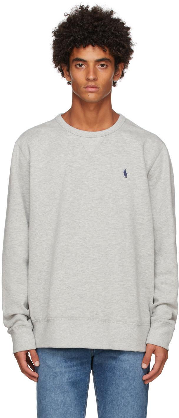 Photo: Polo Ralph Lauren Grey Fleece Sweatshirt
