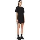 MCQ Black Jersey Jack Branded T-Shirt Dress