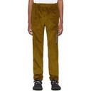 Acne Studios Yellow Corduroy Cargo Pants
