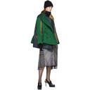 Sacai Navy Glencheck Layer Dress
