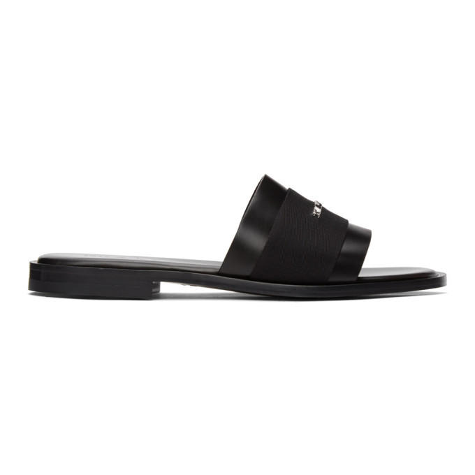 Photo: 1017 ALYX 9SM Black Logo Sandals
