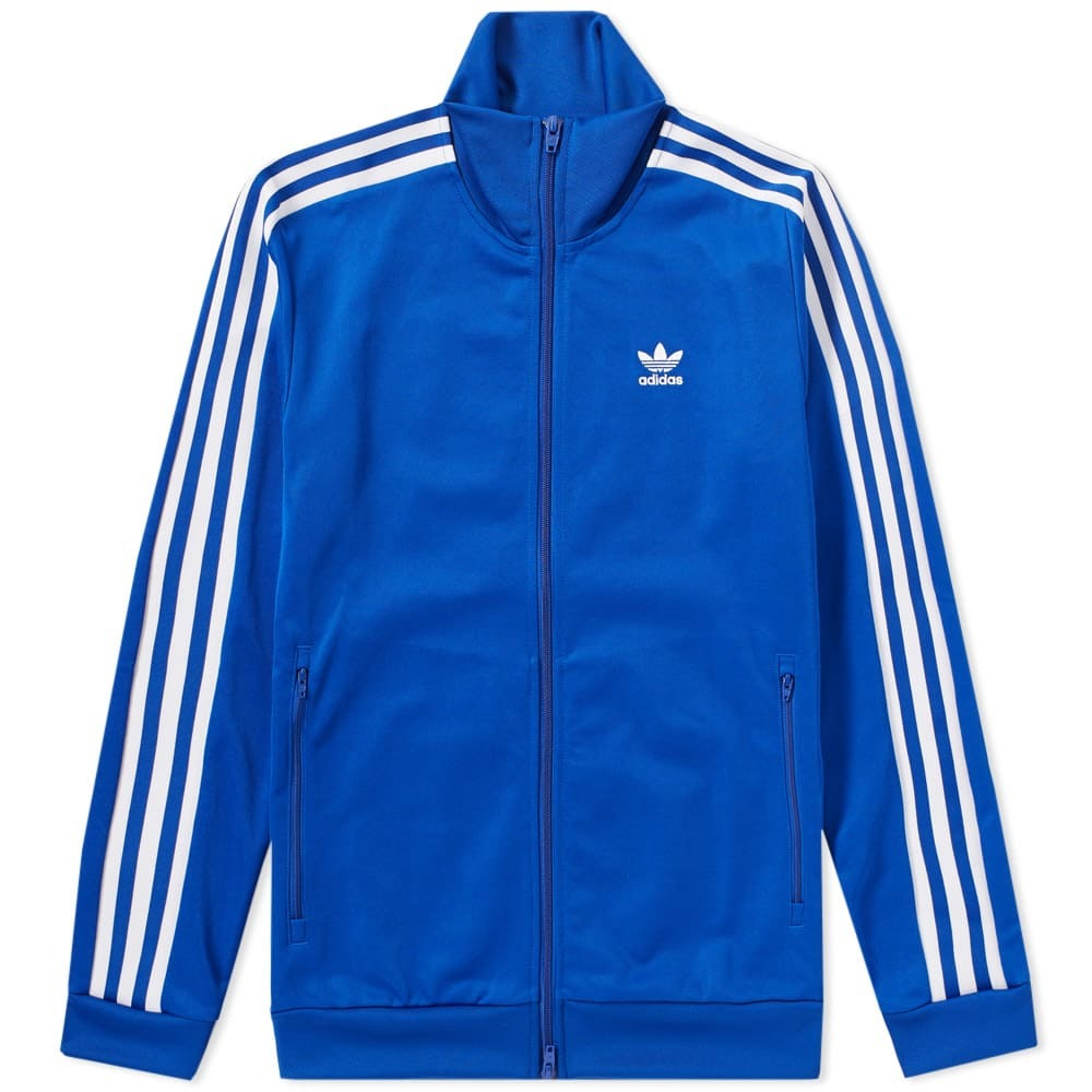 Photo: Adidas Beckenbauer Track Top Blue
