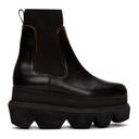 Sacai Black Platform Boots