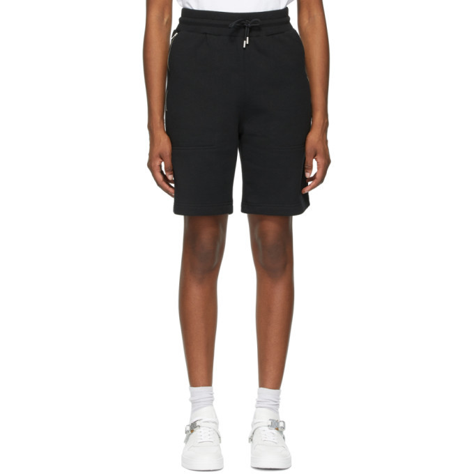 Photo: 1017 ALYX 9SM Black Sweat Shorts