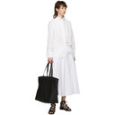3.1 Phillip Lim White Poplin Corset Skirt