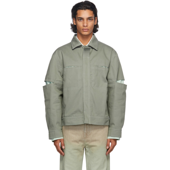 Photo: Jacquemus Green La Veste Olivado Jacket