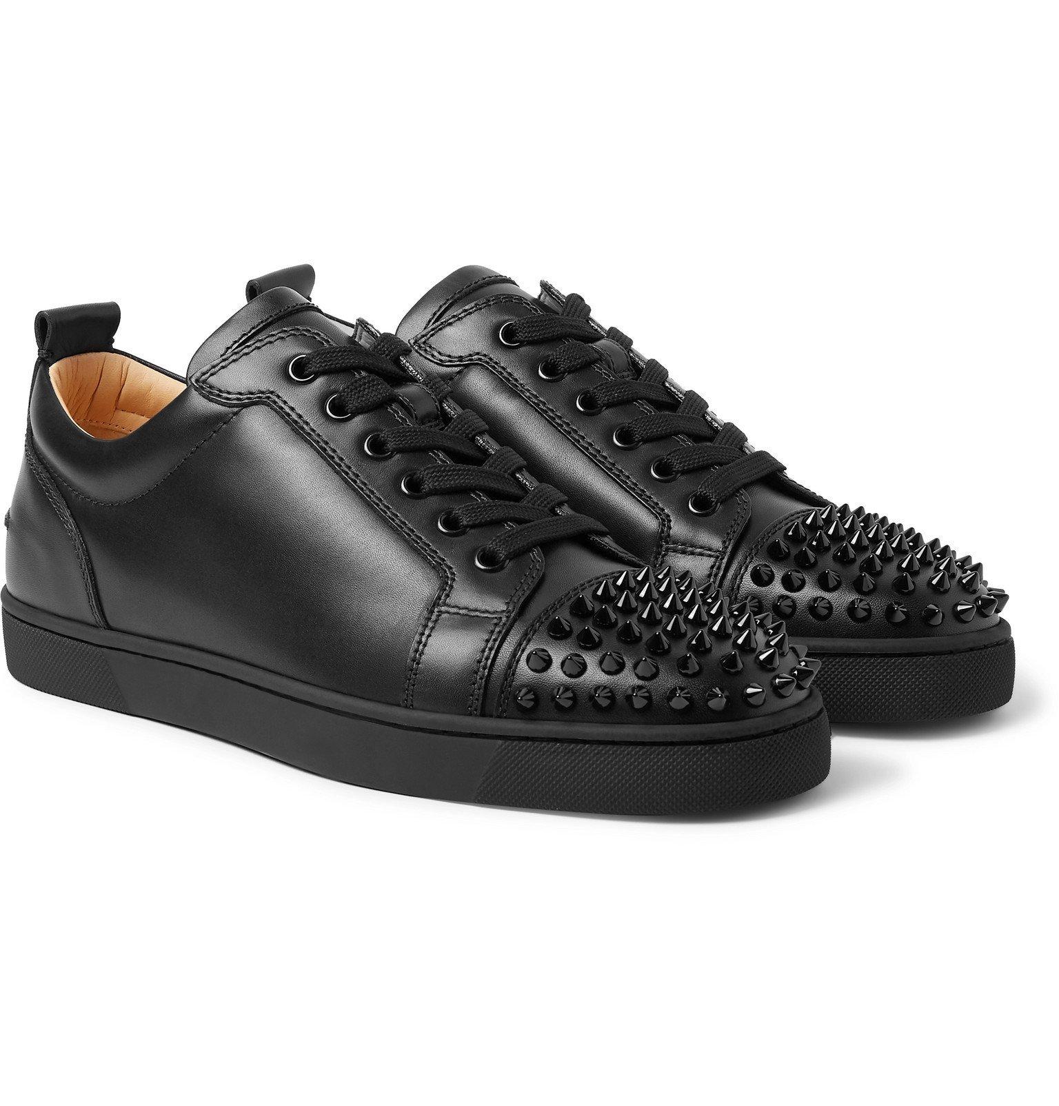 Louis Junior Spikes Cap-Toe Leather