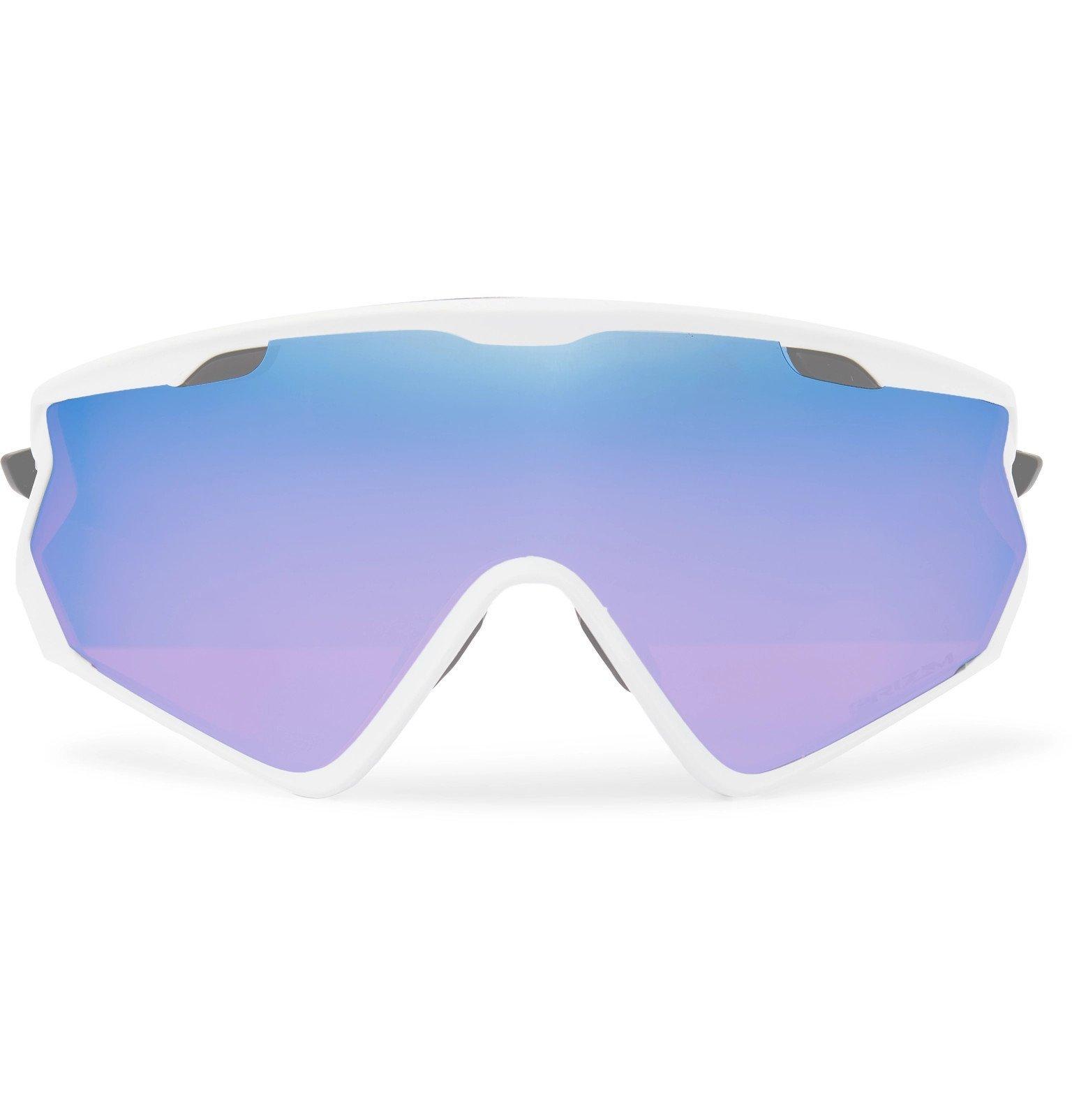 Photo: Oakley - Wind Jacket 2.0 O Matter Sunglasses - White