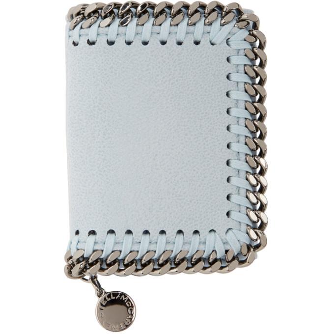 Stella McCartney Blue Small Falabella Wallet