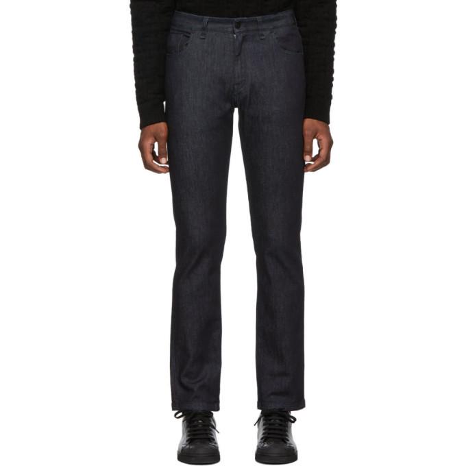 Photo: Fendi Black Wool Gabardine Cargo Trousers