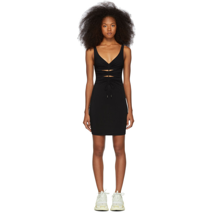 alexanderwang.t Black Crepe Jersey Dress