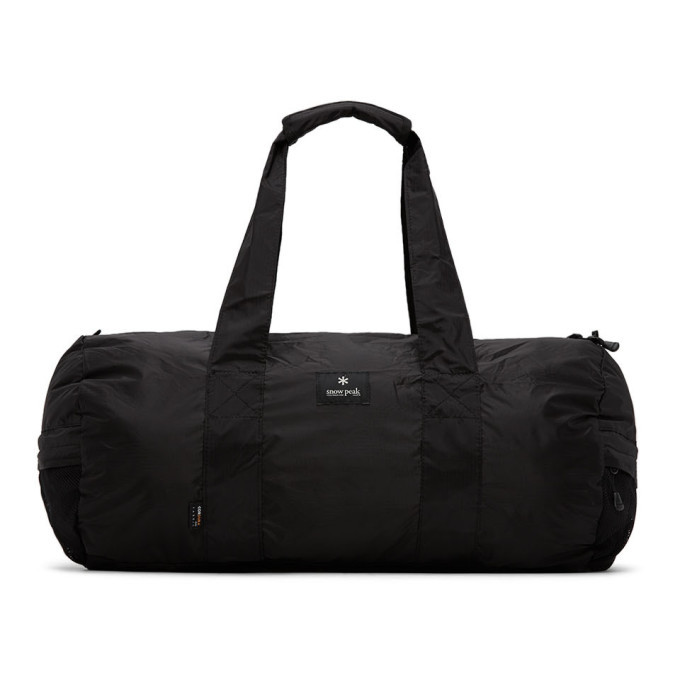 Photo: Snow Peak Black Packable Duffle Bag
