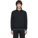 C.P. Company Black Half-Zip Sweatshirt