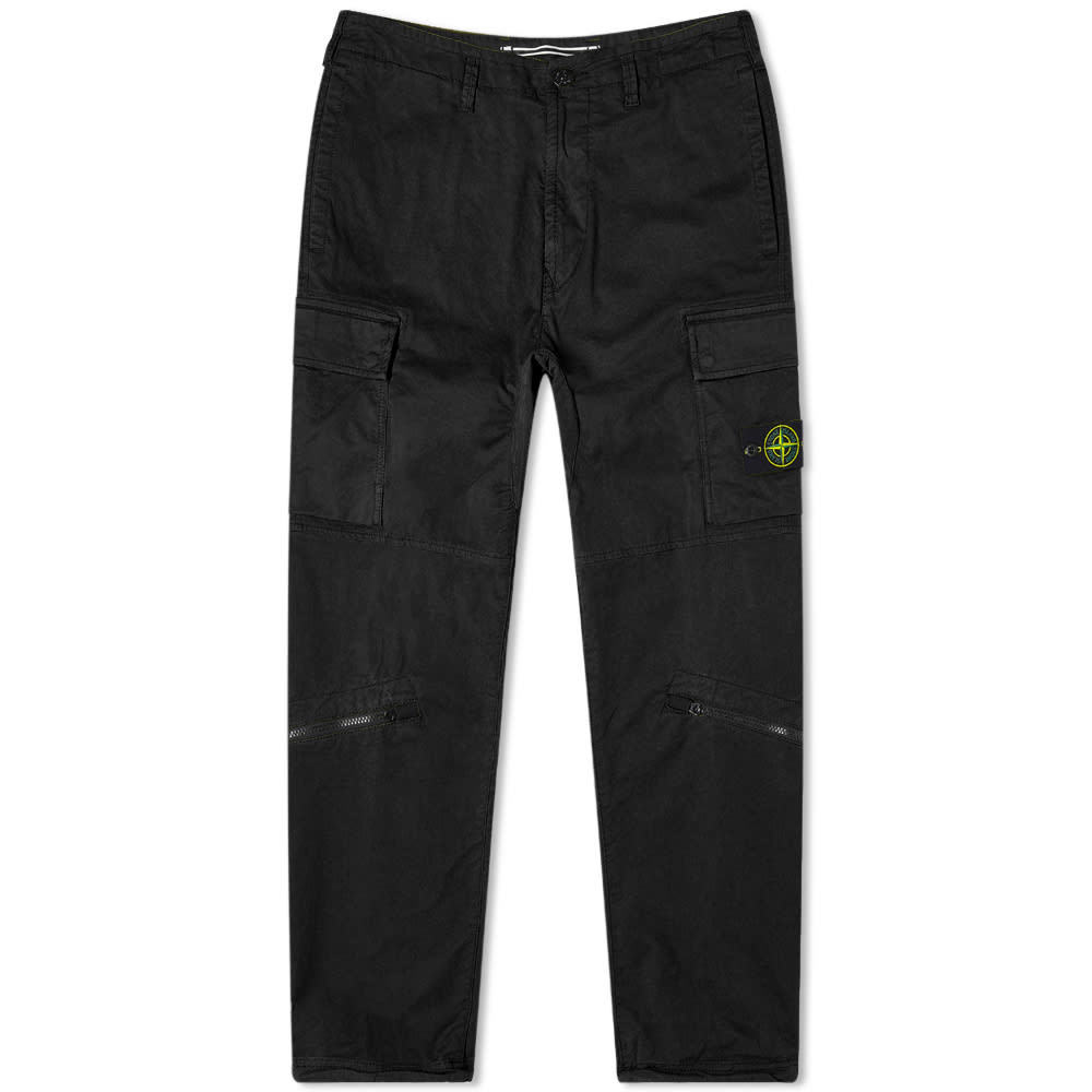 Photo: Stone Island Brushed Cotton Cargo Pant