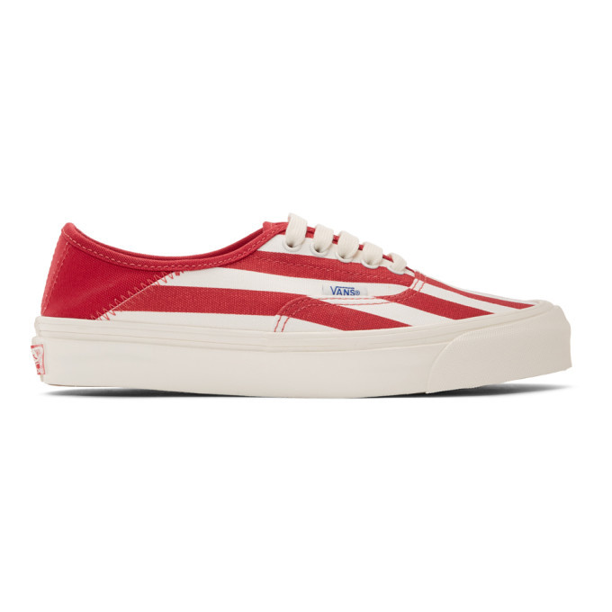 Photo: Vans Red OG Style 43 LX Sneakers