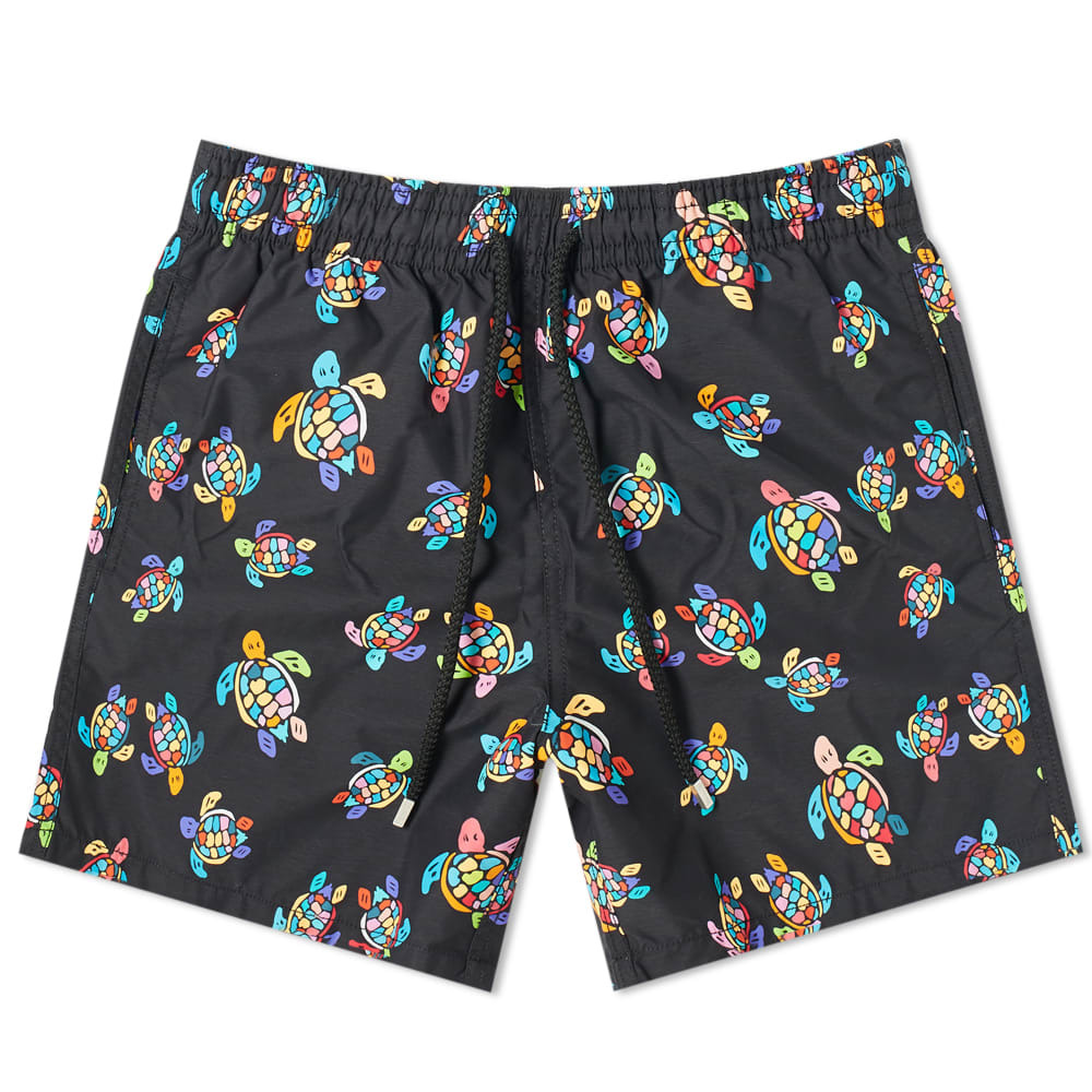 Photo: Vilebrequin Moorea Neon Turtles Swim Short