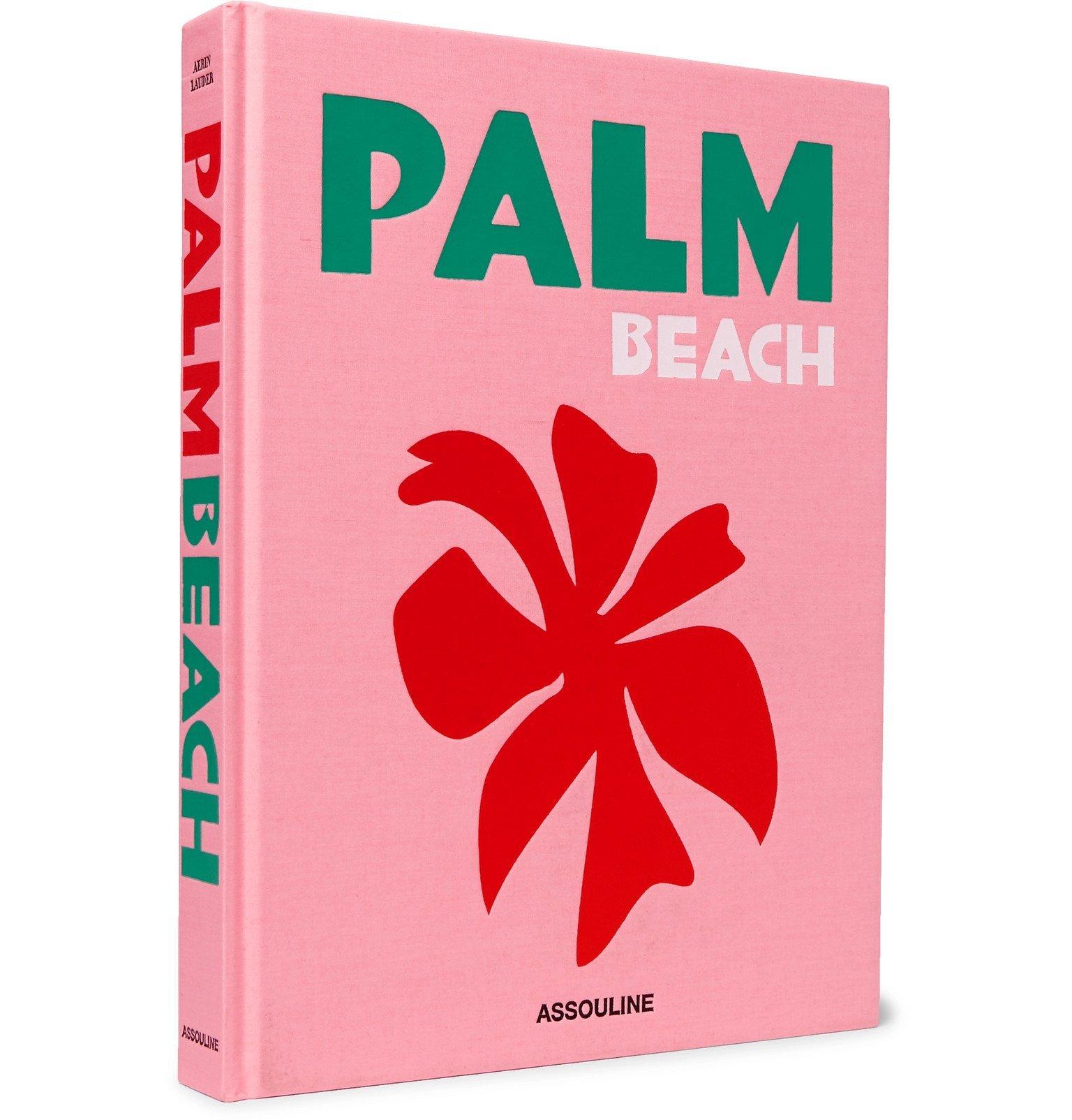 Photo: Assouline - Palm Beach Hardcover Book - Pink
