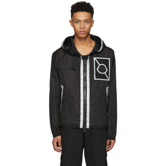 Photo: Moncler C Black Gauss Hooded Jacket