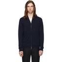 Giorgio Armani Navy Cashmere Sweater