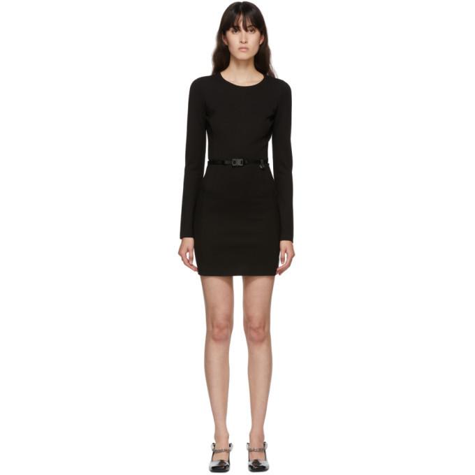Photo: 1017 ALYX 9SM Black Belted Mini Dress