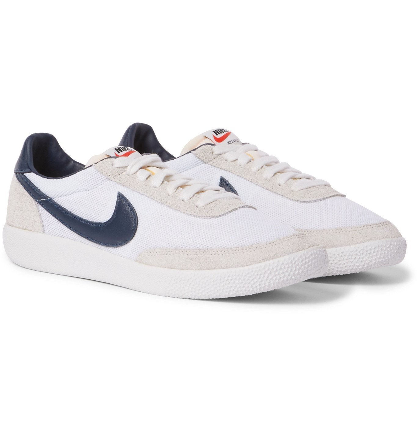 Photo: Nike - Killshot OG SP Mesh, Leather and Suede Sneakers - Neutrals