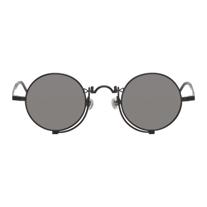 Photo: Matsuda Black Matte Mirror Sunglasses