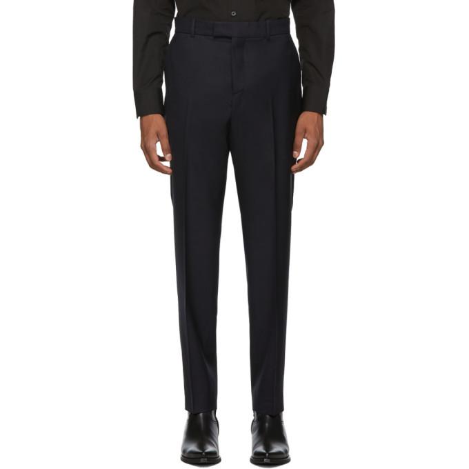 Photo: Kenzo Black Twill Slim Trousers