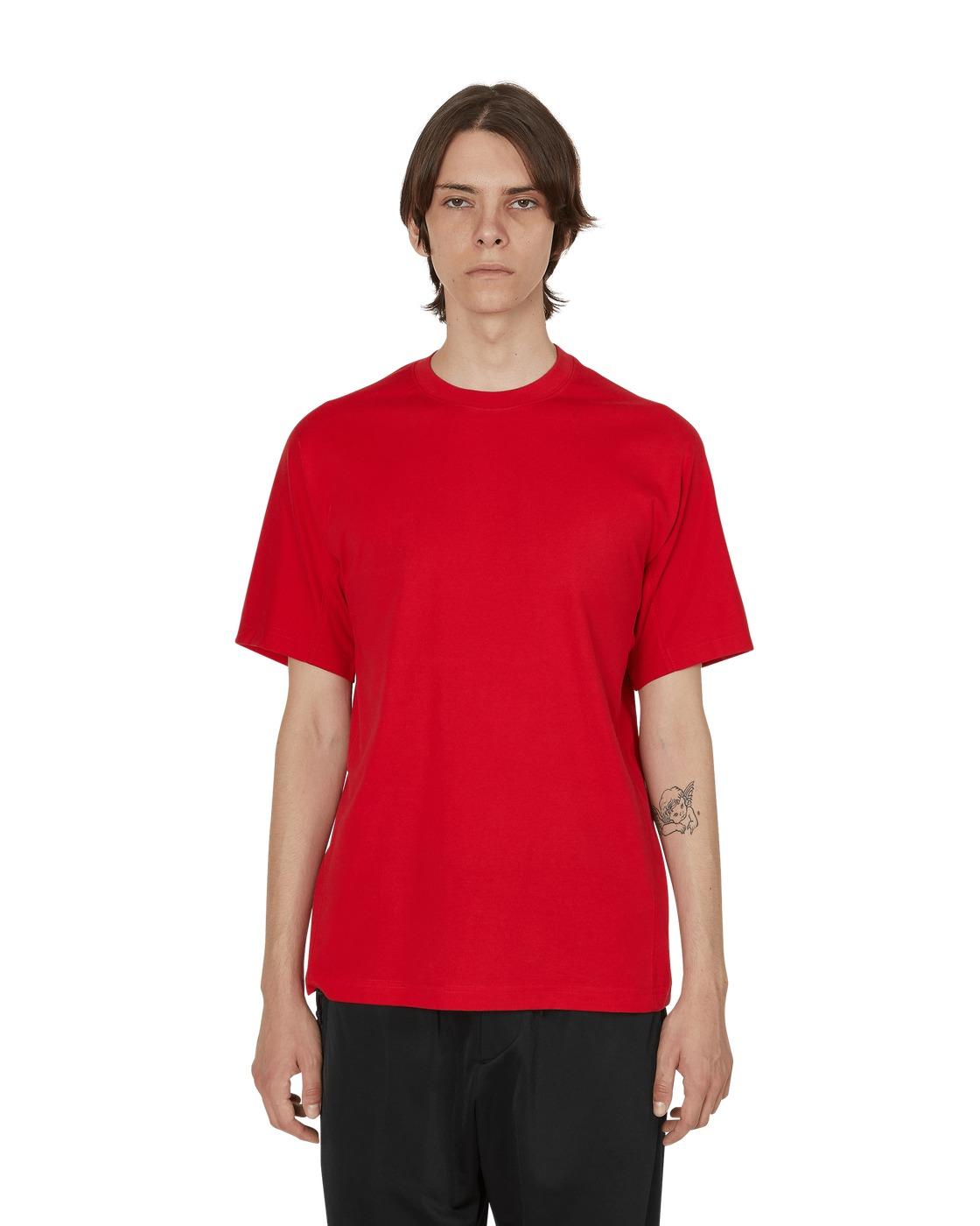 Photo: Y 3 Classic T Shirt Yohji Red
