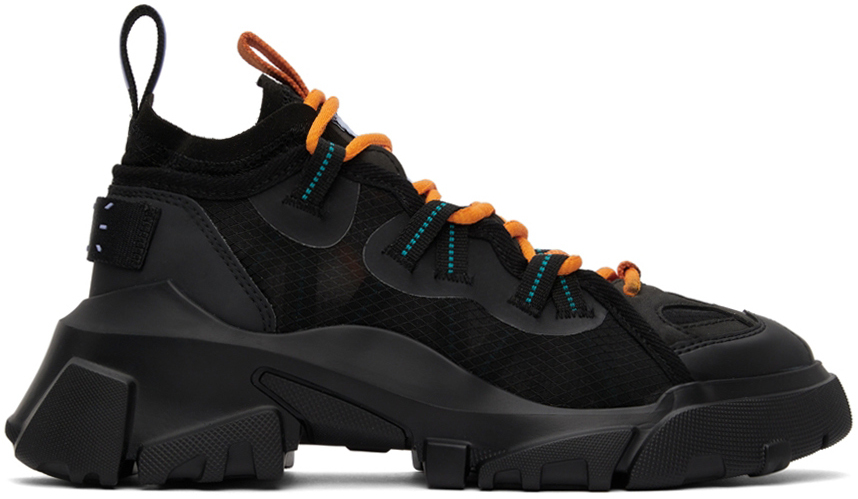 Photo: MCQ Black Orbyt Descender Sneakers