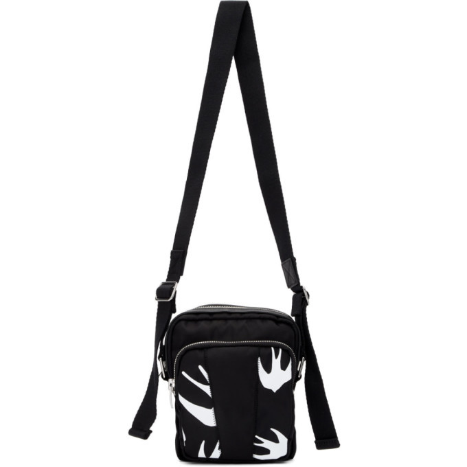 Photo: McQ Alexander McQueen Black Swallow Hyper Crossbody Bag